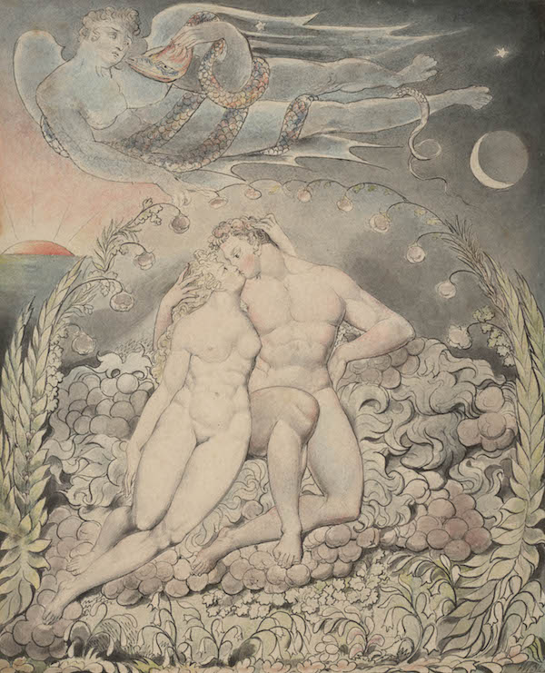 Illustration 5 to Milton's 'Paradise Lost': Satan Watching the Endearments of Adam and Eve © Huntington Art Collections, San Marino, California
