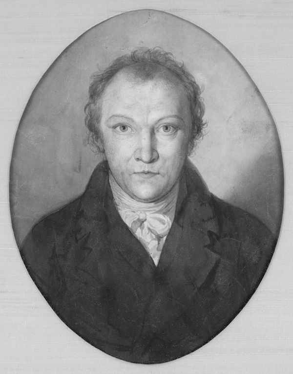 Portrait of William Blake, 1802, © Robert N. Essick