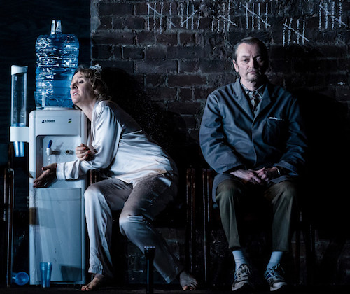 Michael Hodgson as The Porter with Niamh Cusack