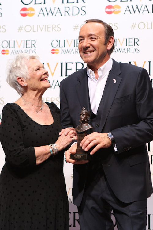 Kevin Spacey and Dame Judi Dench
