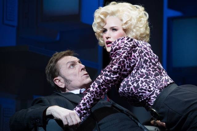 Brian Conley and Natalie McQueen in '9 to 5 the Musical'