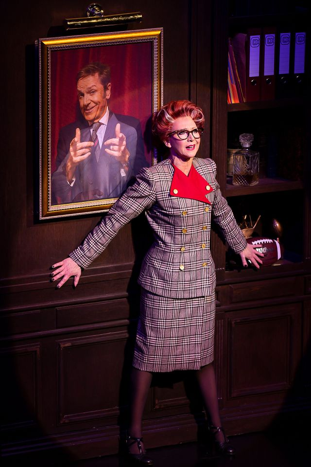 Bonnie Langford in '9 to 5 the Musical'