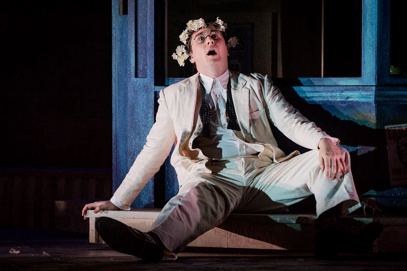 Bradley Smith in Albert Herring - photo by Robert Workman