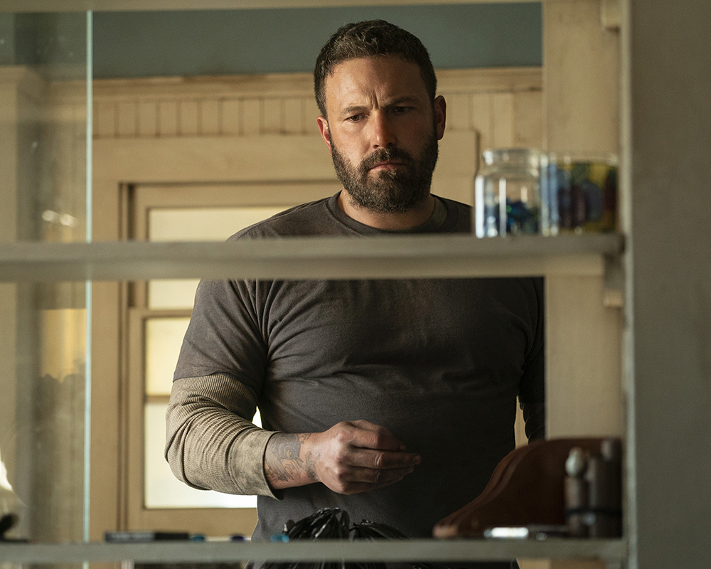 Ben Affleck as a recovering alcoholic in Finding the Way Back