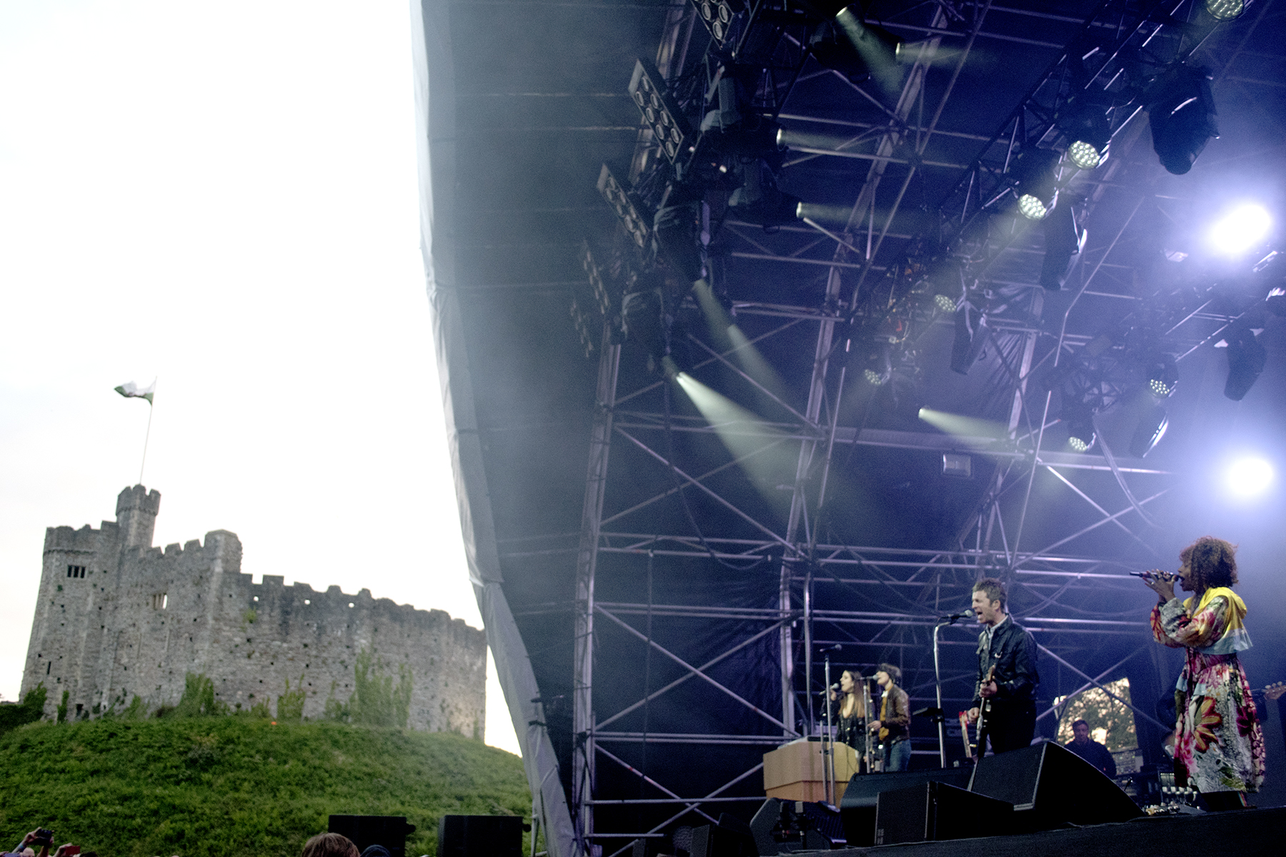 Noel Gallagher at Cardiff Castle