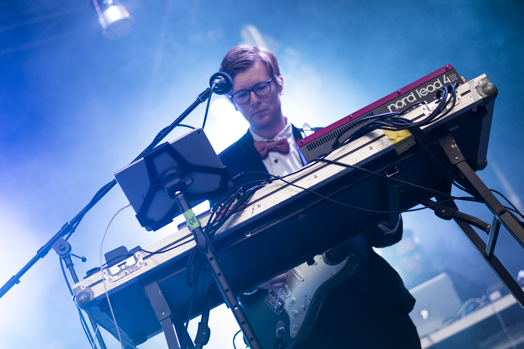 Public Service Broadcasting at Caerphilly Castle