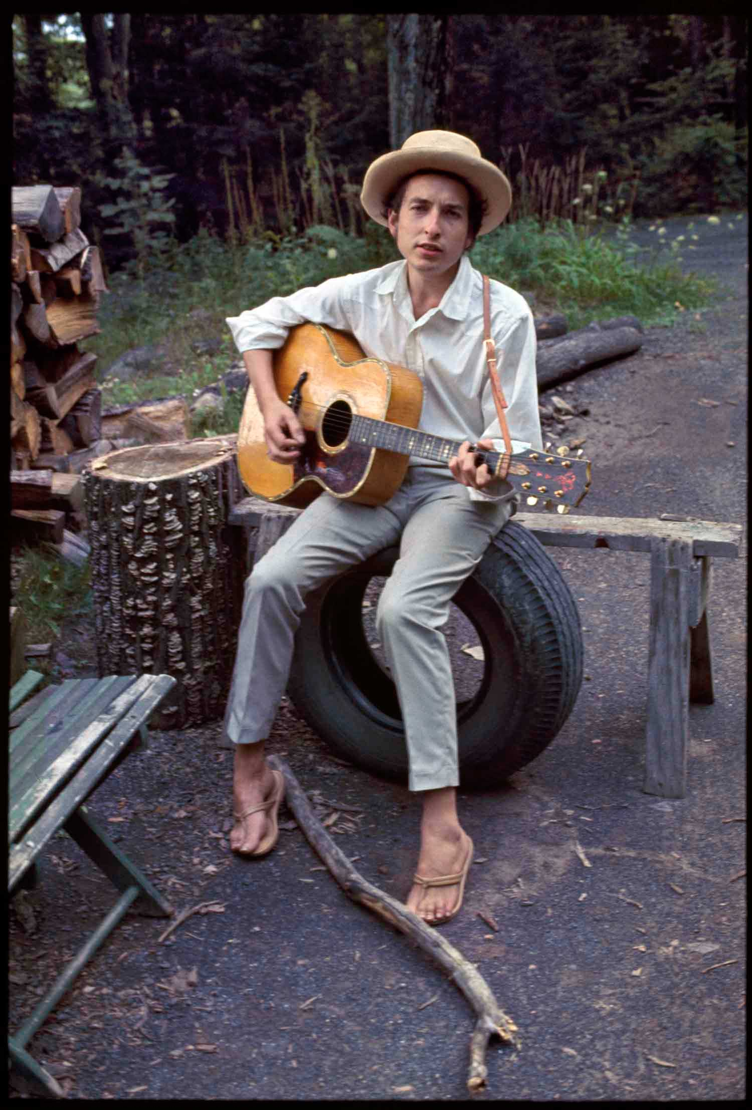 Dylan at Woodstock Image: Elliot Landy