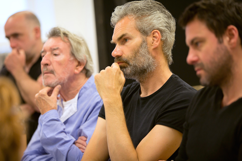 The Cherry Orchard, Young Vic, in rehearsal