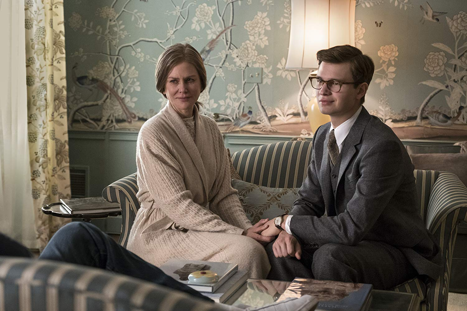 Nicole Kidman and Ansel Egort in The Goldfinch