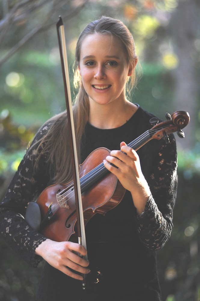 Grace Clifford, violinist