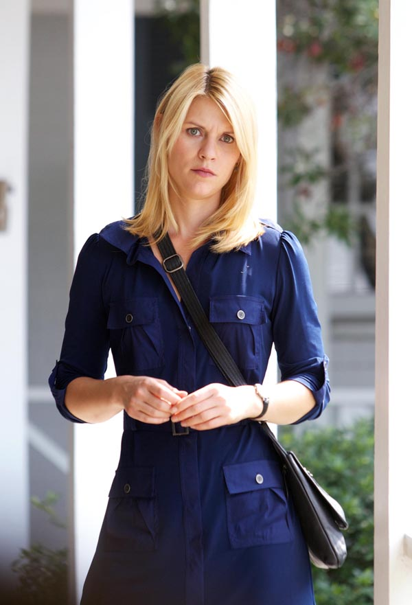 CIA analyst Carrie Mathison (Claire Danes)