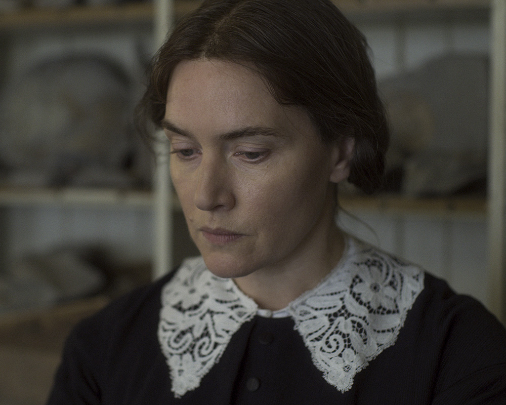 Kate Winslet as Mary Anning in Ammonite