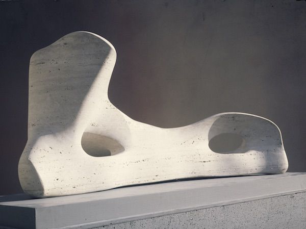 Henry Moore Reclining Figure: Bone 1975 Photo: Henry Moore Archive Reproduced by permission of The Henry Moore Foundation