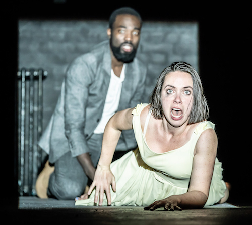 Kate O'Flynn with Paapa Essiedu - Pinter at the Pinter