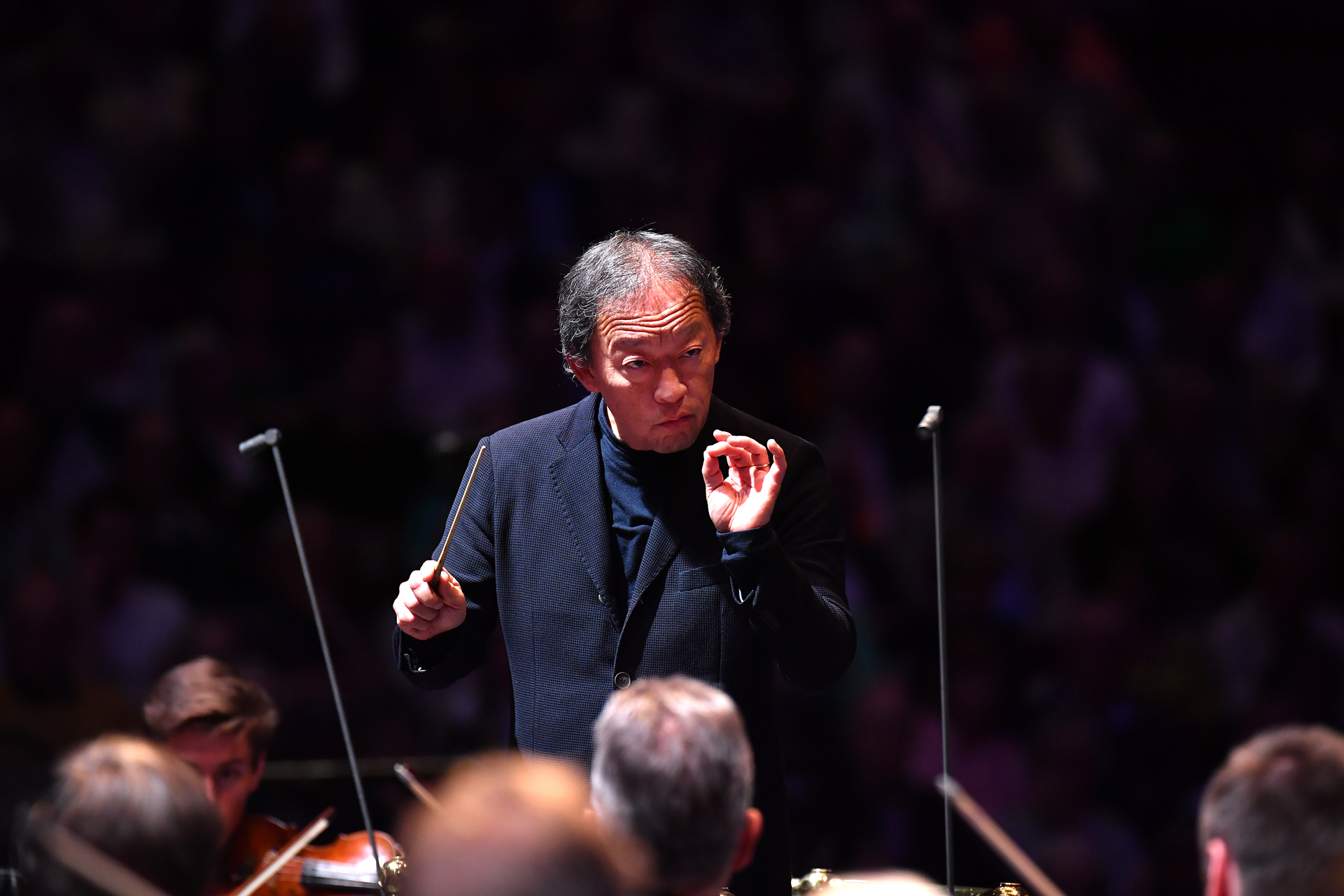 Prom 63: Wang, Staatskapelle Dresden, Chung review – private