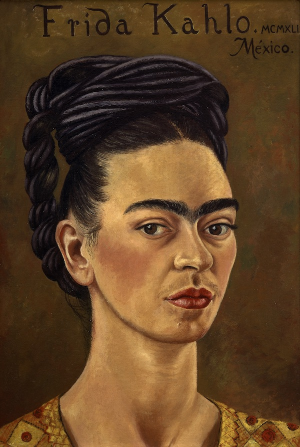 Self-portrait, Frida Kahlo, 1941 (c) The Jacques and Natasha Gelman Collection of 20th Century Mexican Art and The Vergel Collection