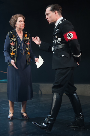 Penelope Wilton as Irmgard with John Light as Conrad