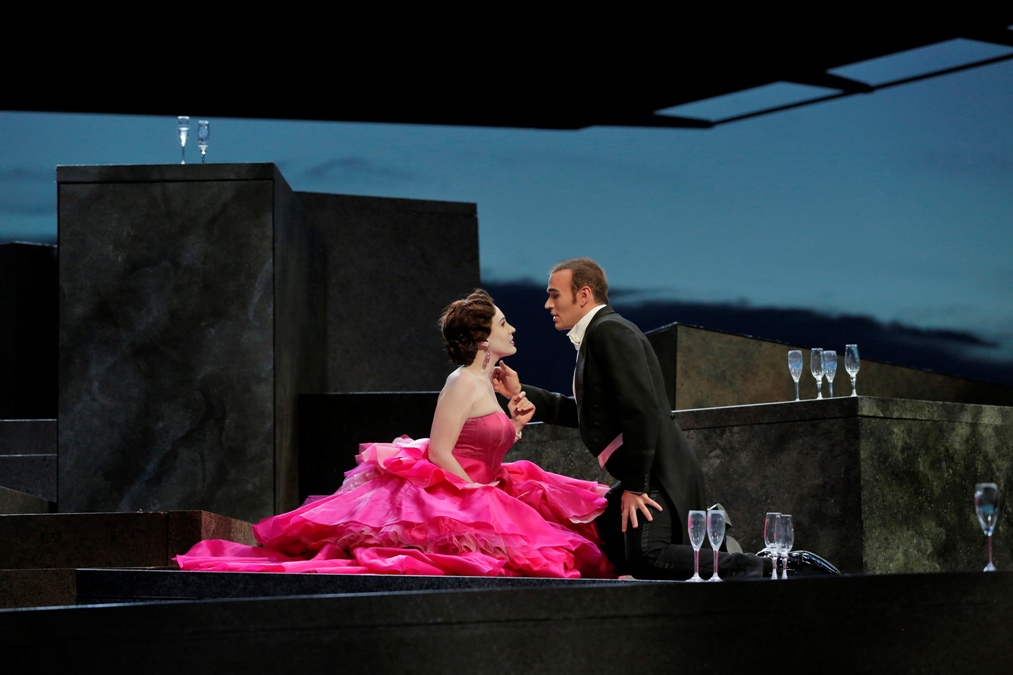 Michael Fabiano and Brenda Rae in Santa Fe Traviata