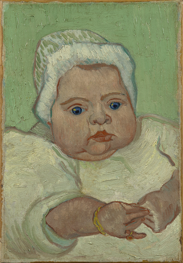 Portrait of Marcelle Roulin, December 1888 © Van Gogh Museum, Amsterdam (Vincent van Gogh Foundation)