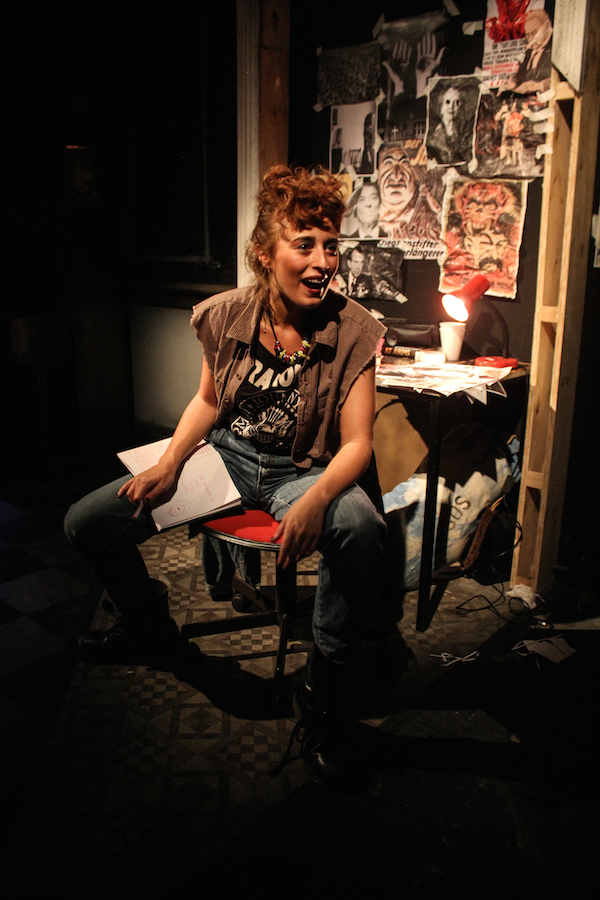 Zillah in A Bright Room Called Day, Southwark Playhouse