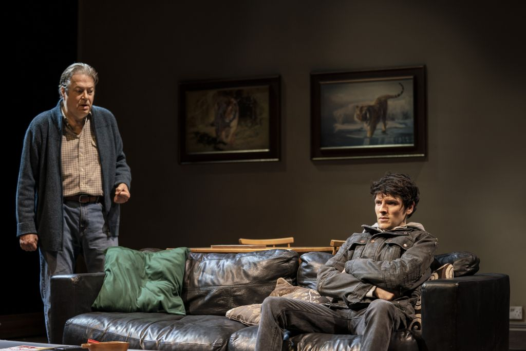 Roger Allam and Colin Morgan in 'A Number'