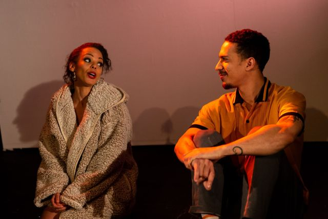 A scene from `Time Is Love' at the Finborough