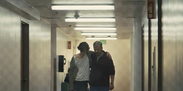 Timothee Chalamet and Steve Carell in 'Beautiful Boy'