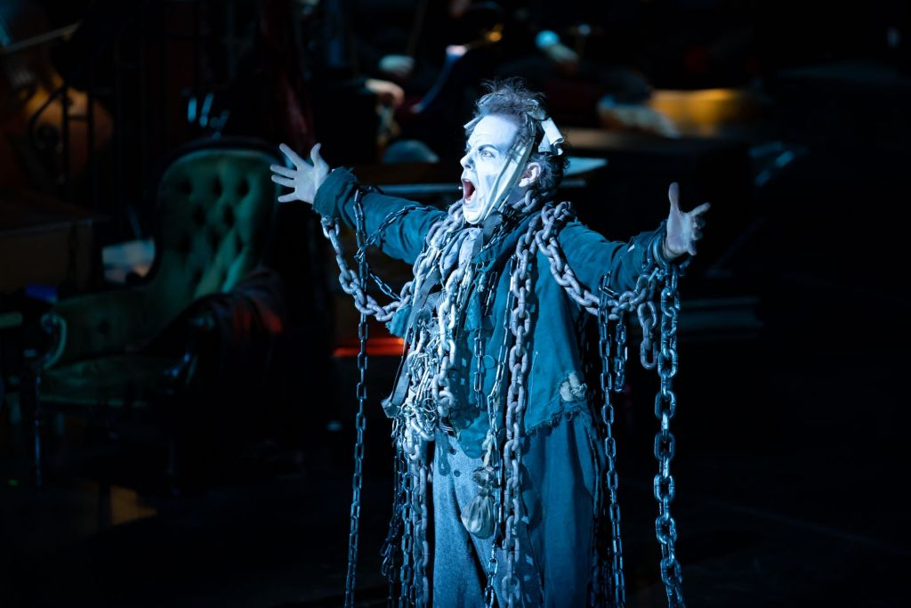Jeremy Secomb as Jacob Marley