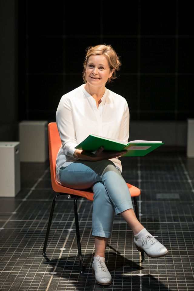 Julie Hale as Siobhan in 'The Curious Incident of the Dog in the Night-Time'