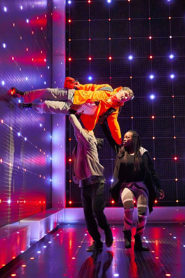 Joshua Jenkins in 'The Curious Incident of the Dog in the Night-Time'