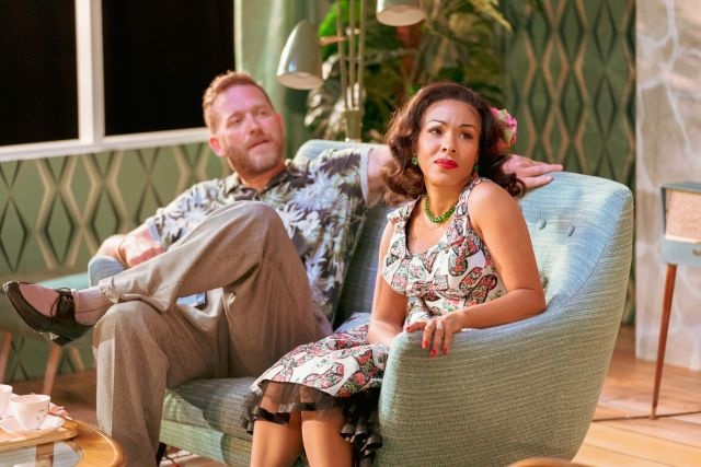 Barnaby Kay and Kathryn Drysdale in Home, I'm Darling