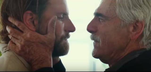 Bradley Cooper and Sam Elliott in 'A Star is Born'