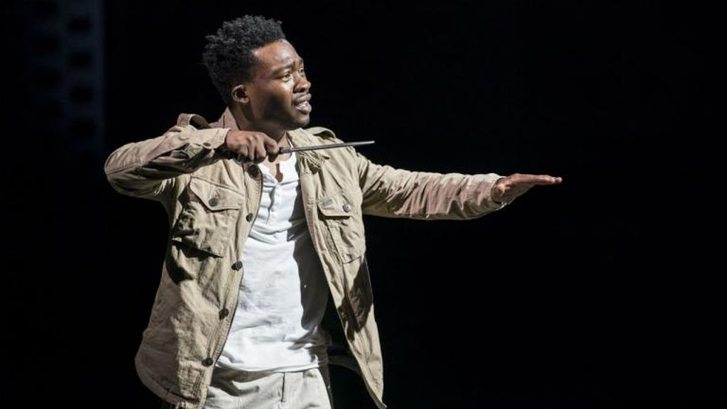 Fisayo Akinade in 'Antony & Cleopatra' at the NT