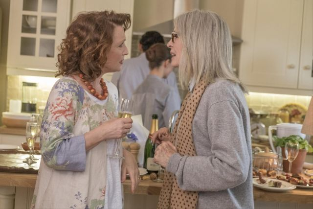 Lesley Manville and Diane Keaton in 'Hampstead'