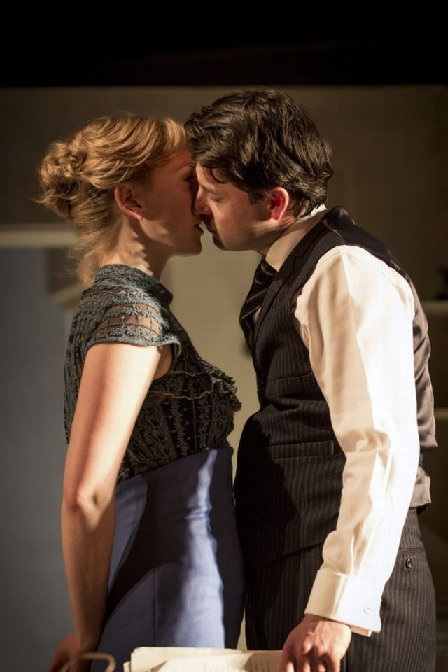 Hattie Morahan and Dominic Rowan