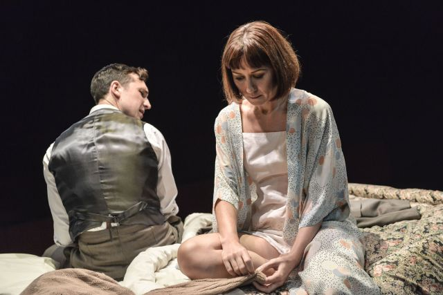 Ben Lloyd-Hughes and Claire Lams in 'Kiss Me'