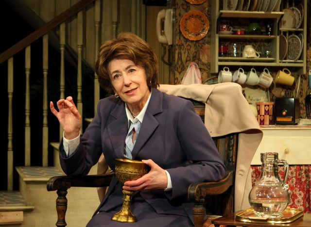 Maureen Lipman as Lotte Schoen in 'Lettice and Lovage'