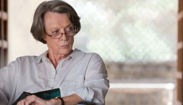 Maggie Smith at her most vinegary