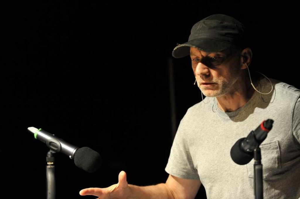 Simon McBurney in 'The Encounter' which he conceived