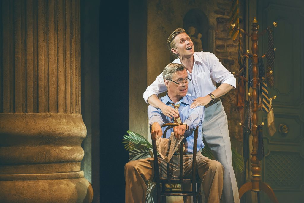Alex Jennings and Rob Houchen in 'The Light in the Piazza'
