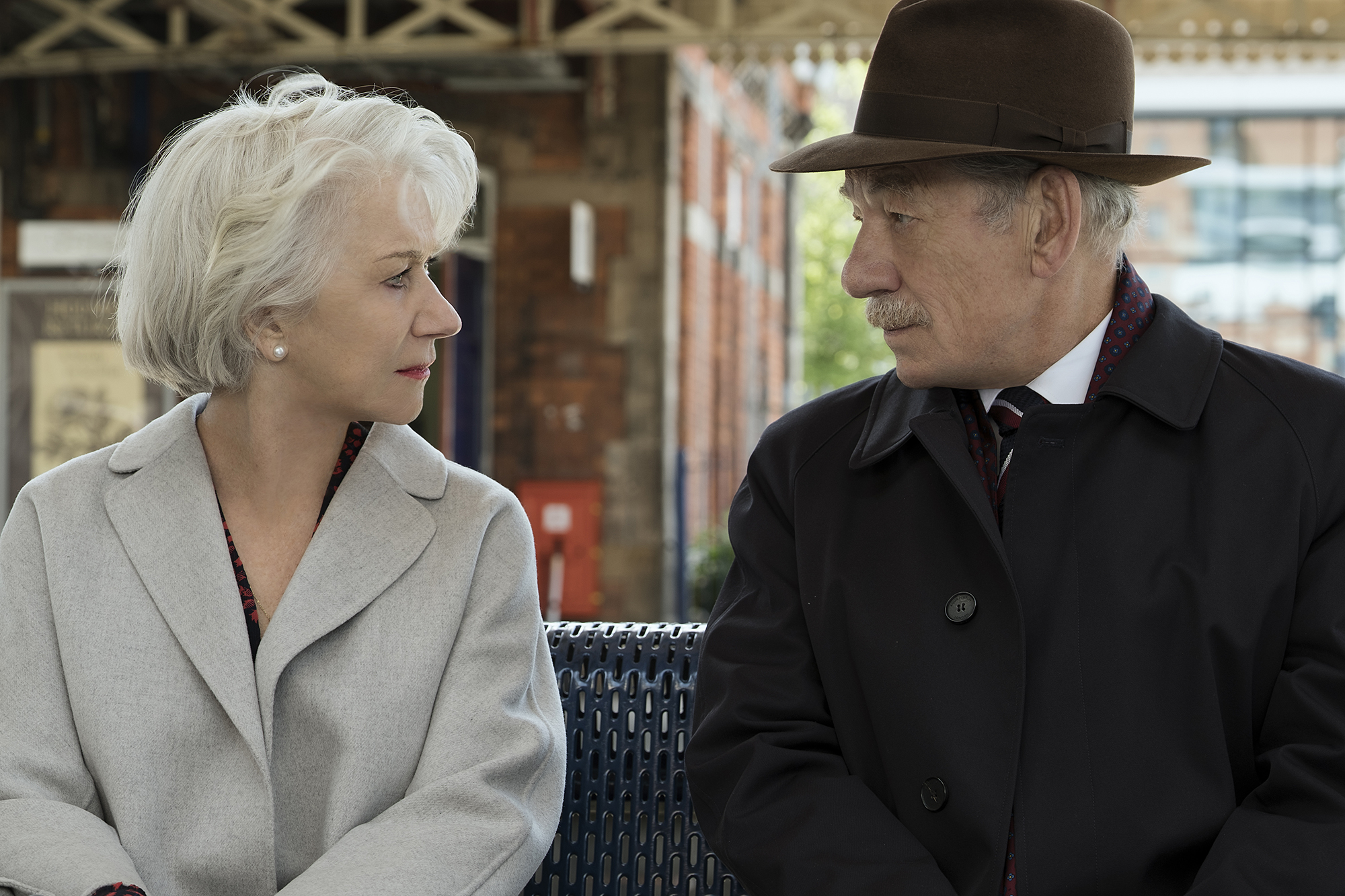 Helen Mirren and Ian McKellen in The Good Liar