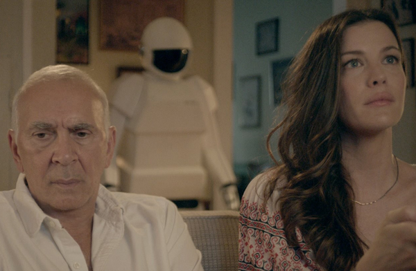Frank Langella and Liv Tyler in Robot & Frank