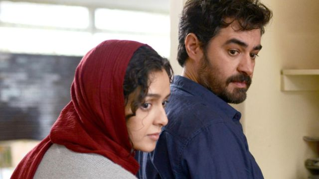 Taraneh Alidoosti, Shahab Hosseini in The Salesman