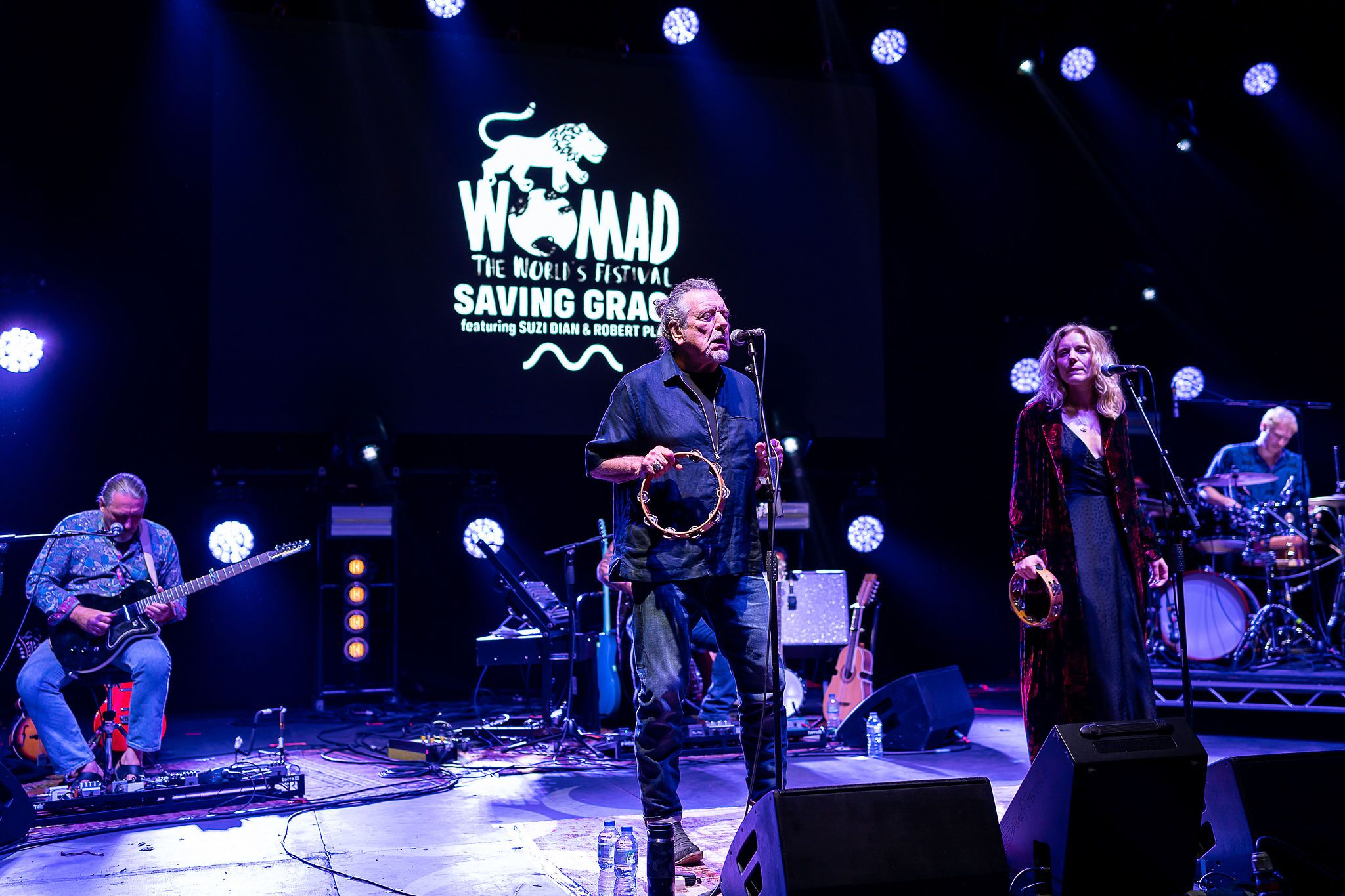 Robert Plant's Saving Grace at WOMAD
