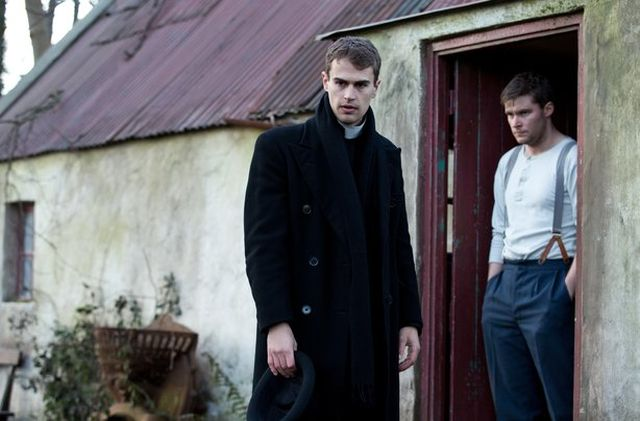 Teho James and Jack Reynor in 'The Secret Scripture'