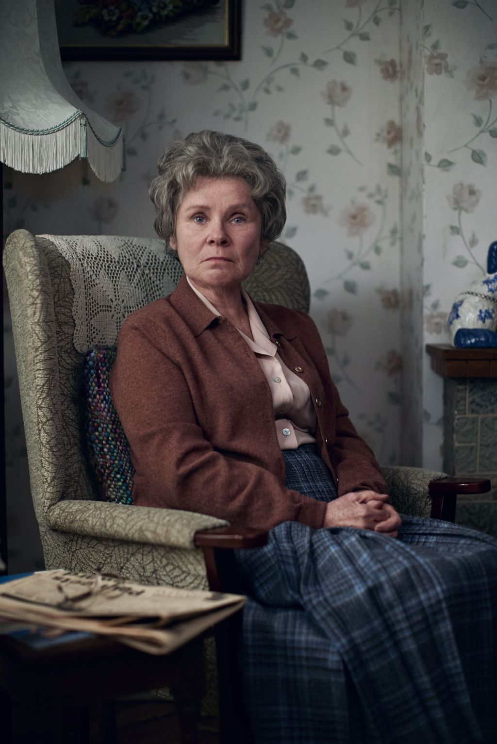 Imelda Staunton as Irene in 'A Lady of Letters'