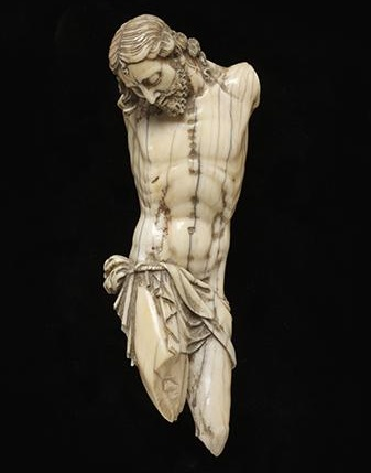 Giovanni Antonio Gualterio,  Corpus for a crucifix, c.1599  © Victoria and Albert Museum
