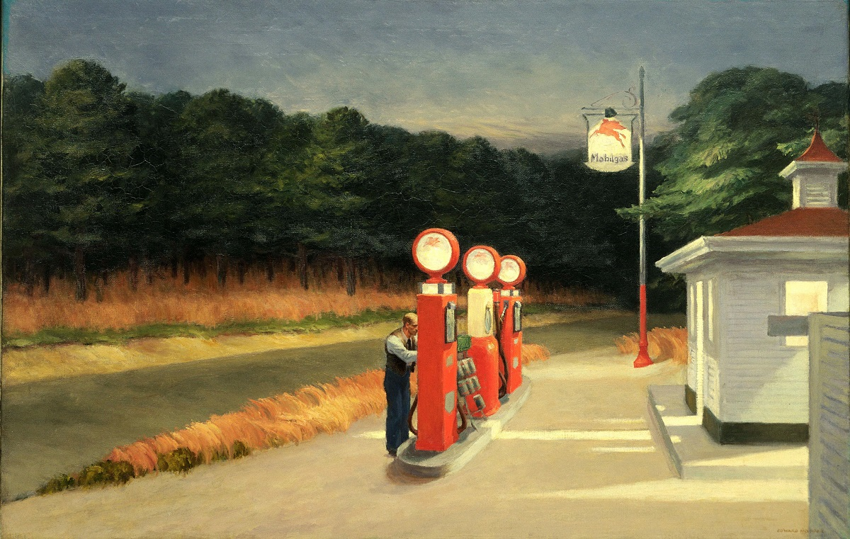 Edward Hopper: Gas