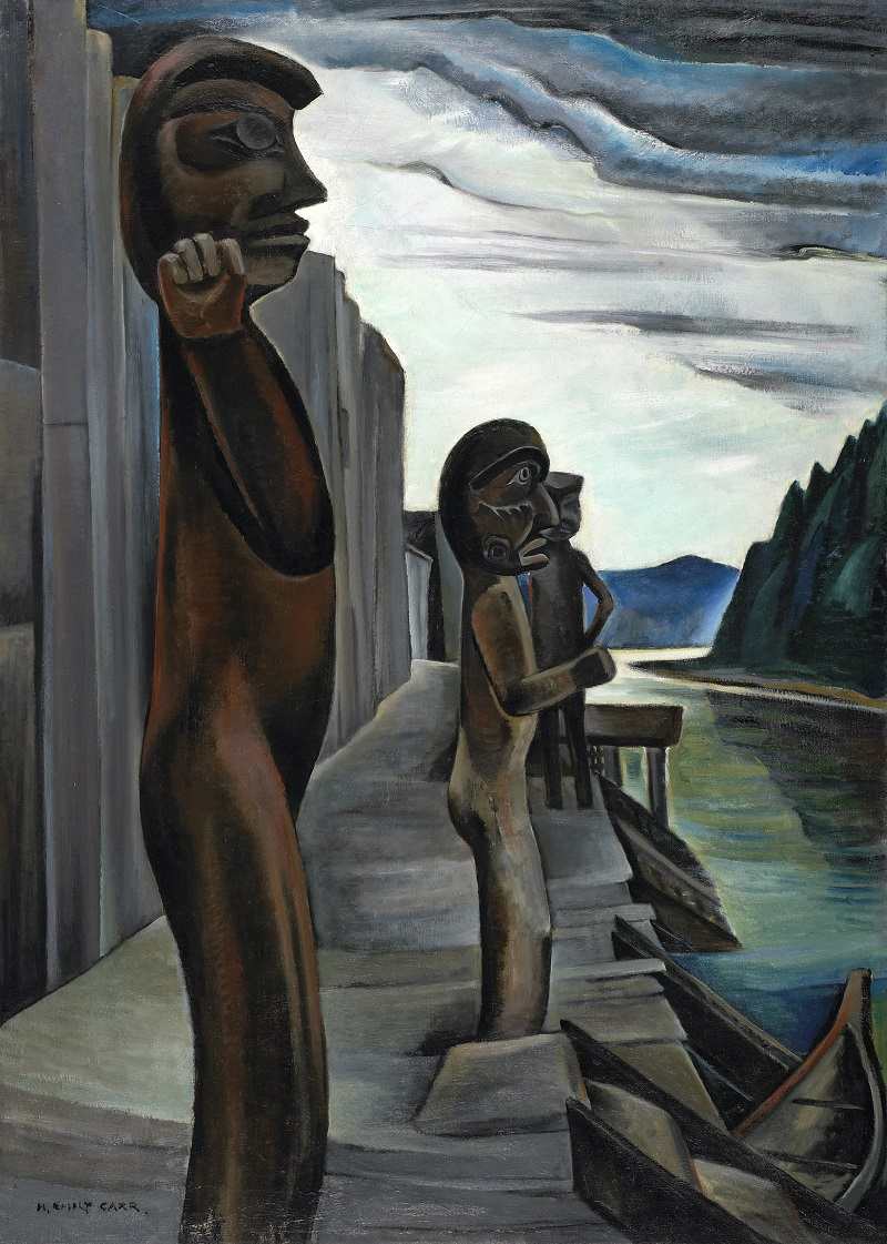 Emily Carr, Blunden Harbour, c. 1930, Oil on canvas, National Gallery of Ottawa, Photo © NGC