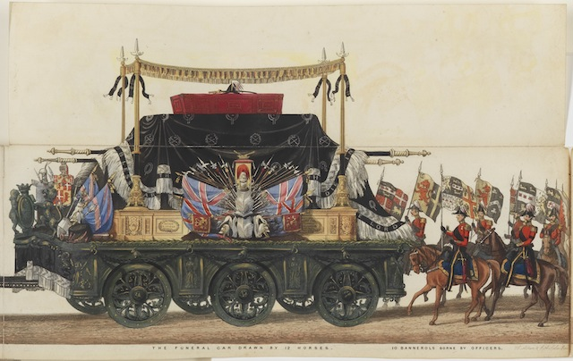 Wellington's Funeral Procession, Aiken and Sala, © National Portrait Gallery, London